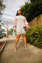 Load image into Gallery viewer, Mauvelous Weekend Sweatshirt Dress