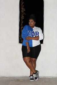 ΖΦΒ Color Block Sweatshirt