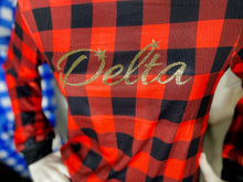 Load image into Gallery viewer, ΔΣΘ Devastating Flannel Lounge Set