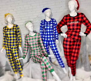 ΔΣΘ Devastating Flannel Lounge Set