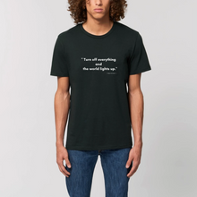 "Load image into Gallery viewer, Organic ""Turn off"" - T-shirt unisex"