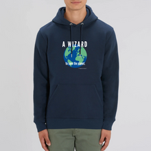 Load image into Gallery viewer, Organic Hoodie Wizard Solid colors -unisex