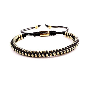Armband Caviar Starry Heaven Black X Caviar40064 Gold