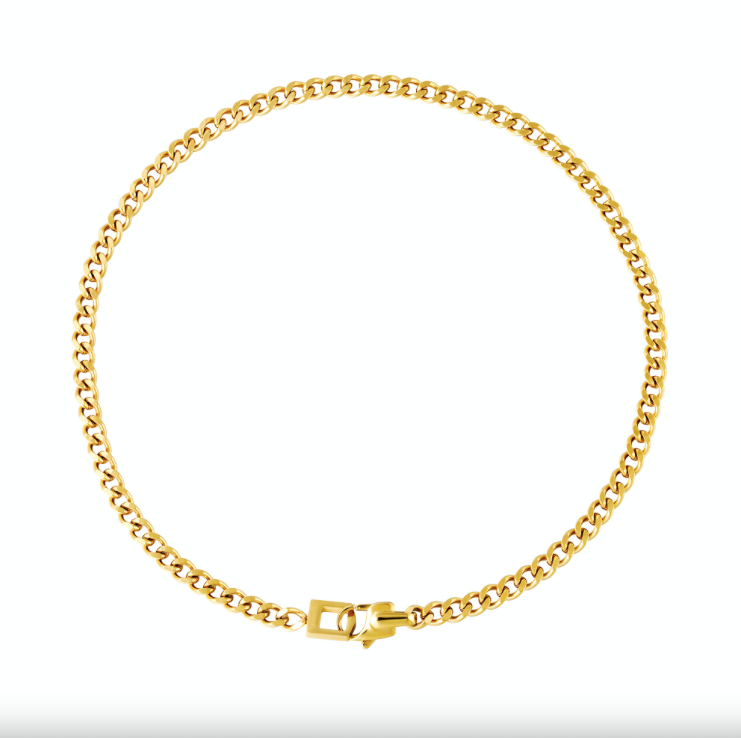 Ketting LaLunaTheLabel Chain Lina 0216095 Goud