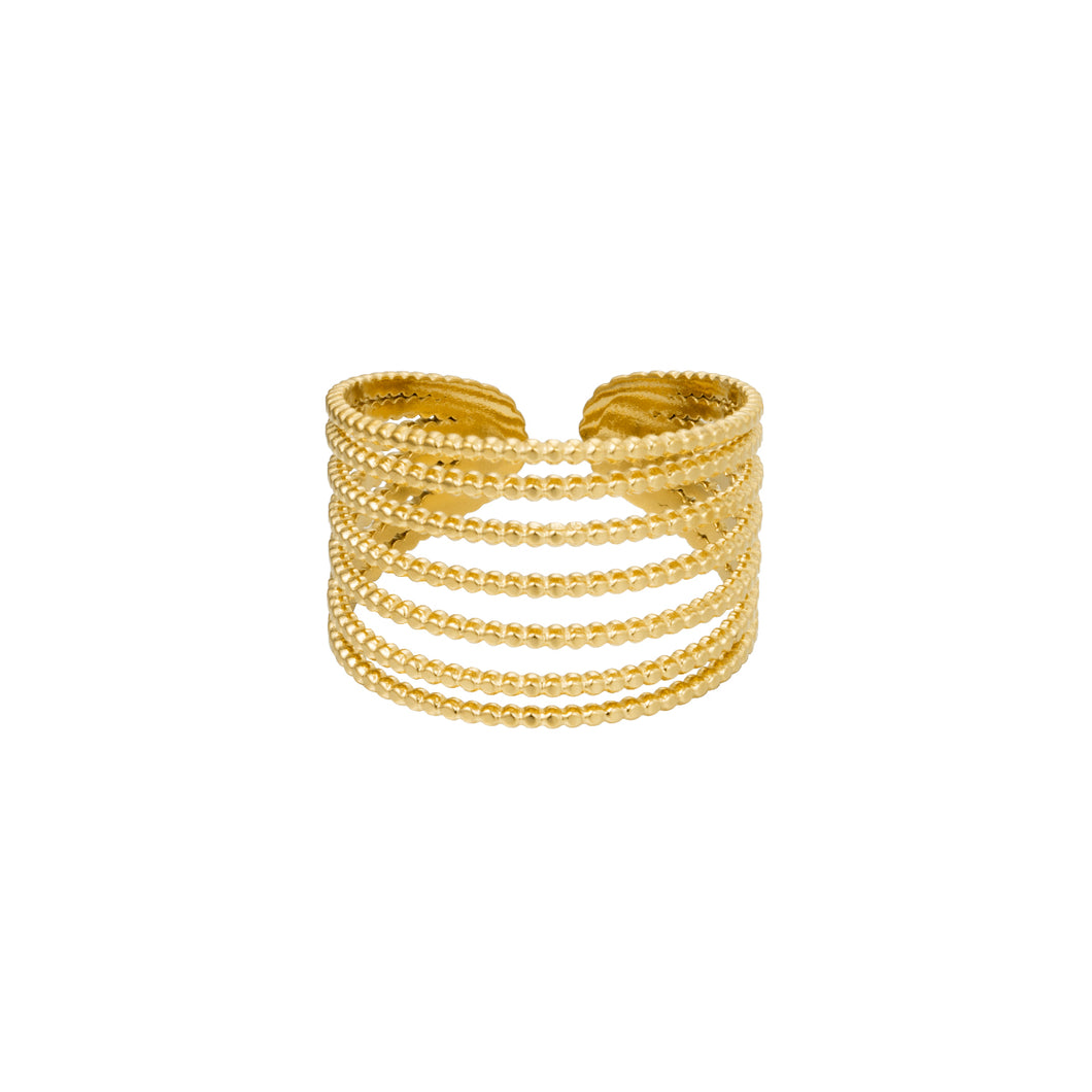 Ringen LaLunaTheLabel STACK IT UP 0252291 Goud