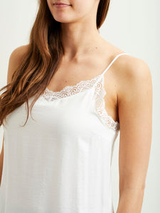 Vicava Lace Singlet 14044577 Cloud dancer
