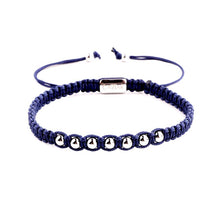 Afbeelding in Gallery-weergave laden, Armband Caviar Alpha Blue X Caviar40057 Zilver