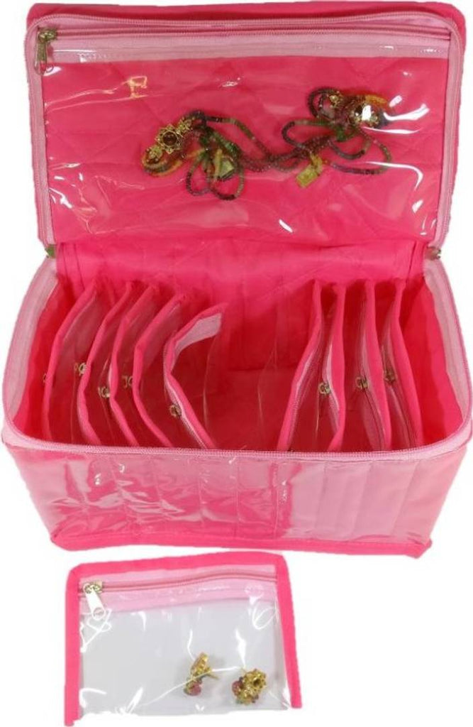 Makeup Jewellery Vanity Box (10 Pouches Each)