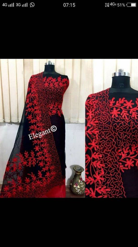 Women's Unstitched Dress Material With Dupatta