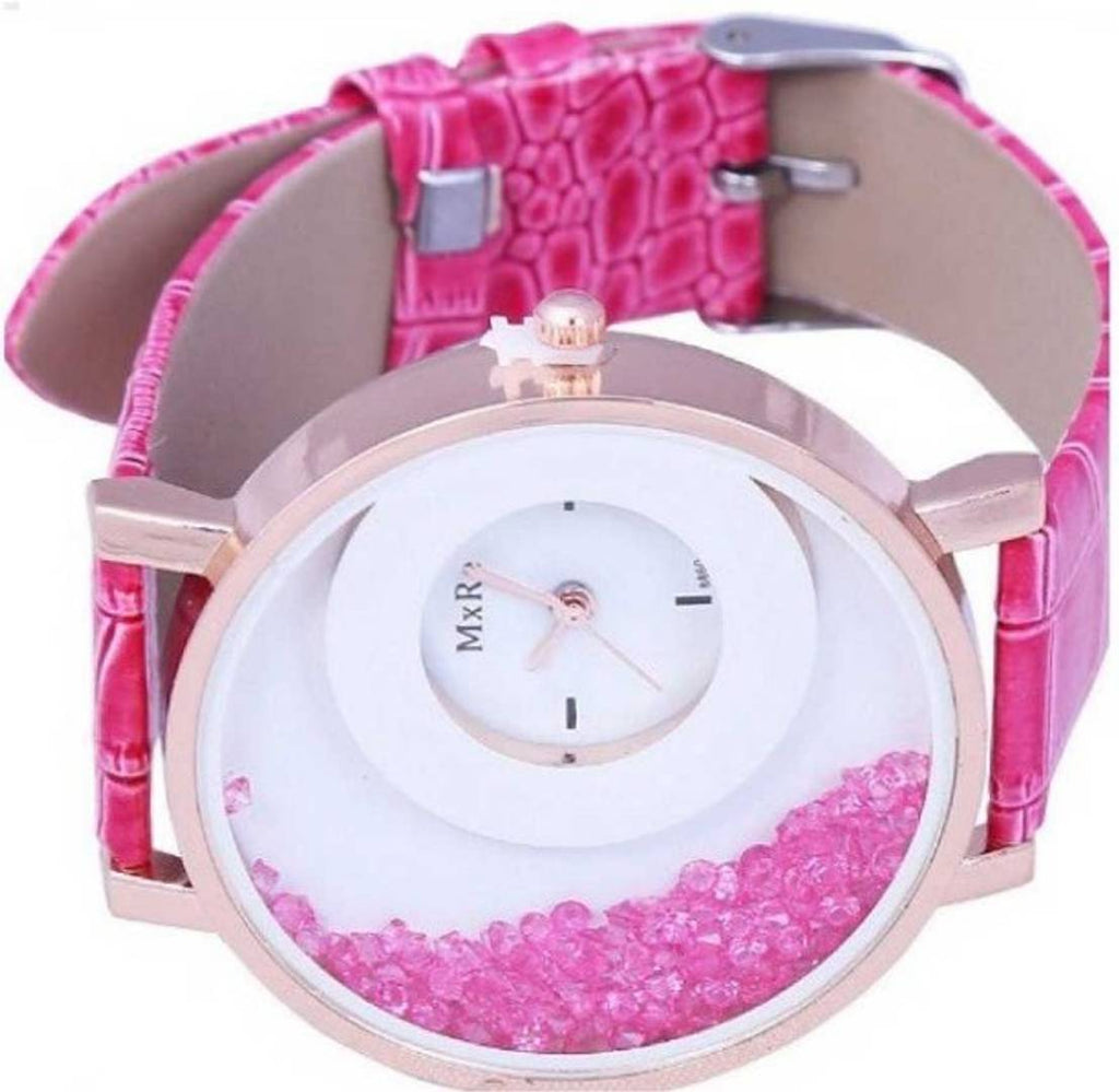 Pink Analog Watch - For Women
