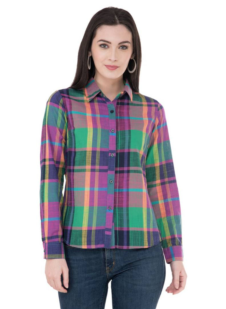 Women's Rayon Multicoloured Shirt - Zoopershop.com