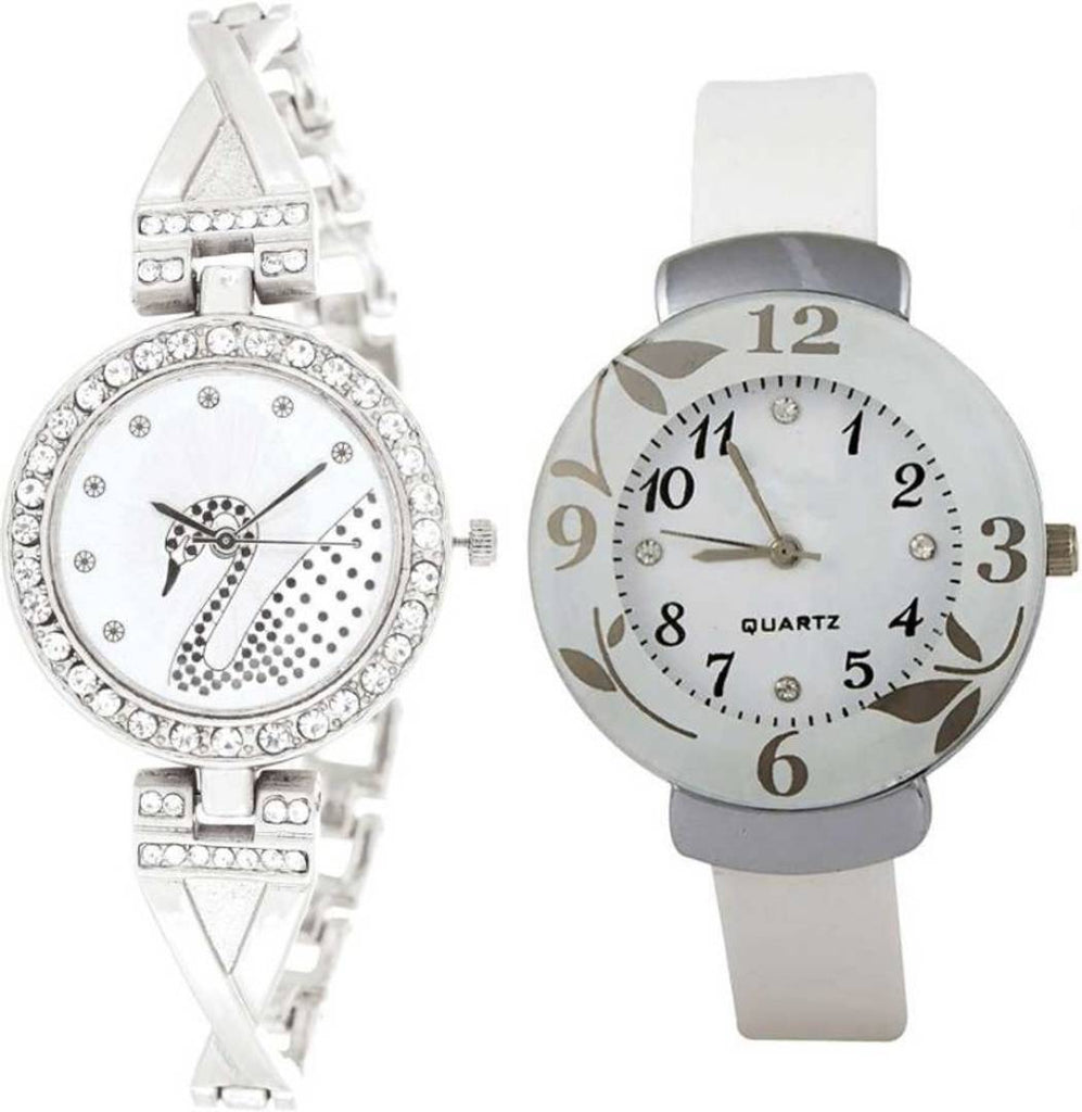 New Arrival Pack Of 2 Watches For Women