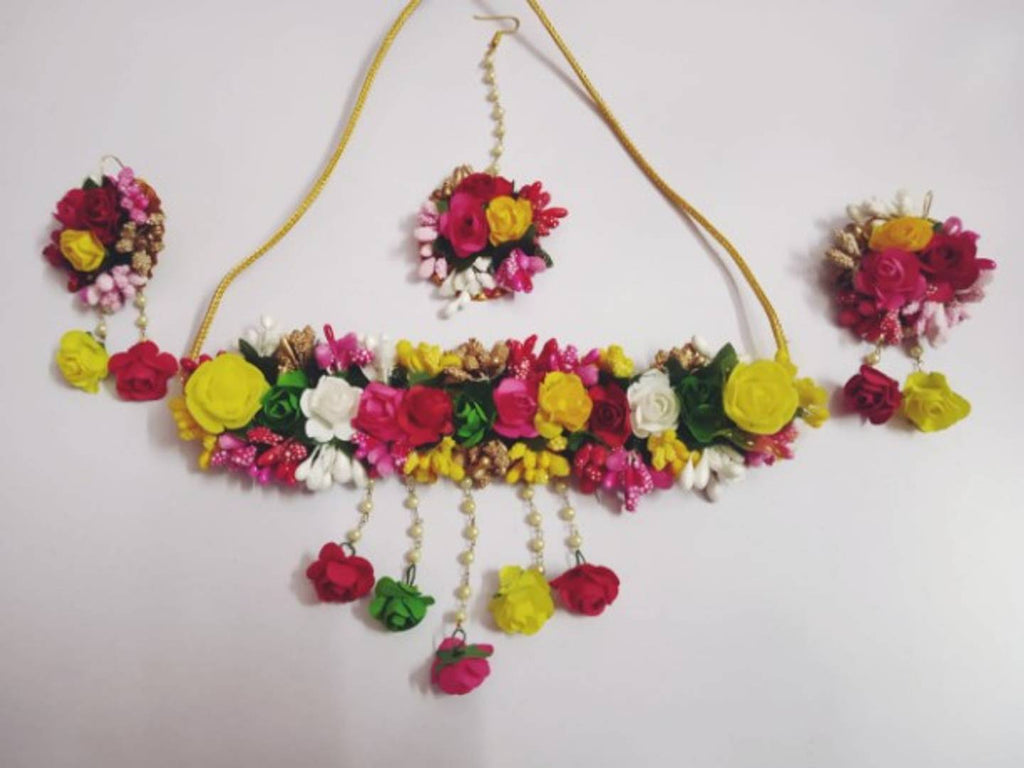 Floral Handmade Women's Jewellery Set