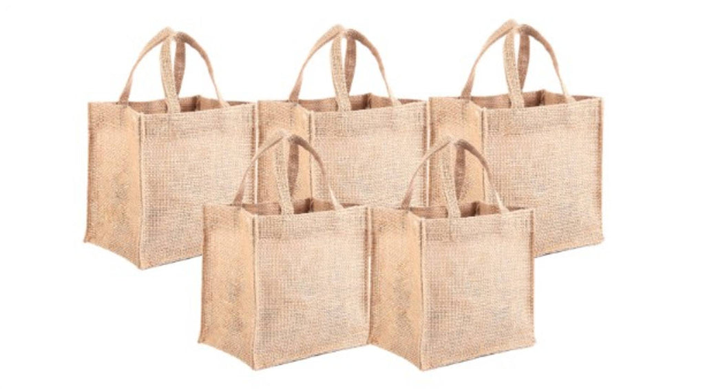 Eco friendly jute gift bags