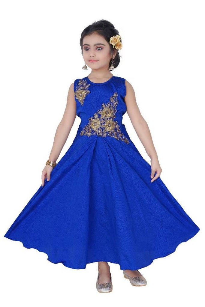 Two Patch Blue Dress - Zoopershop.com