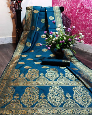 Banarasi Art Silk Woven Design Saree
