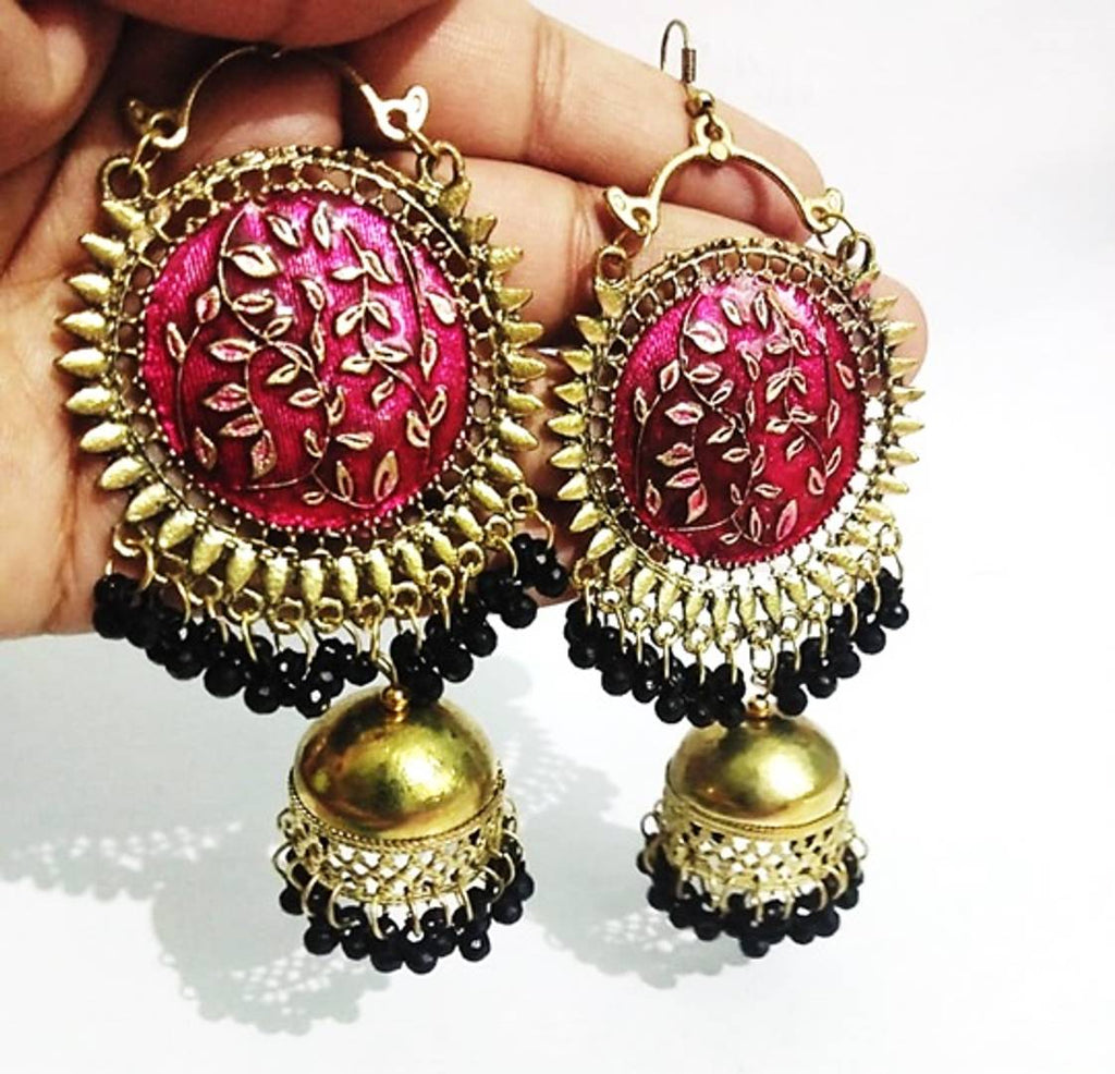 Trendy Women's Oxidized Earrings