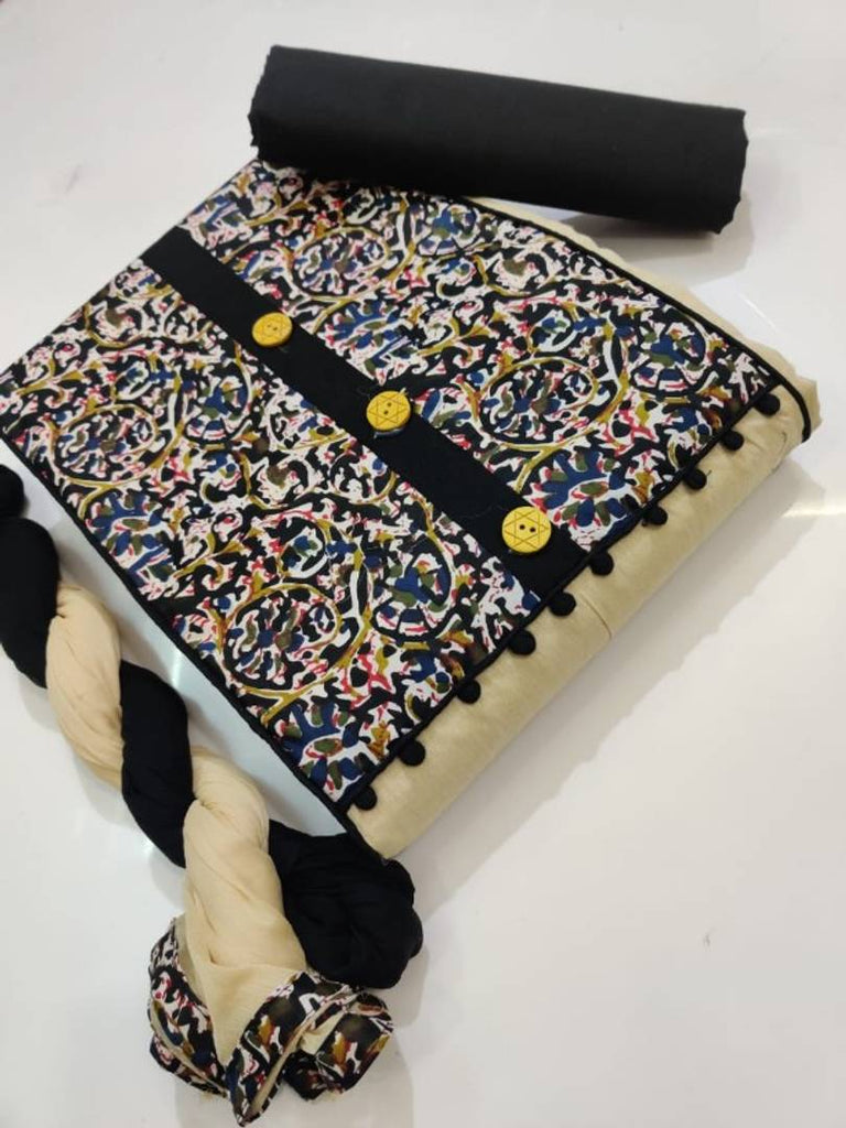 Cotton Dress Material With Dupatta