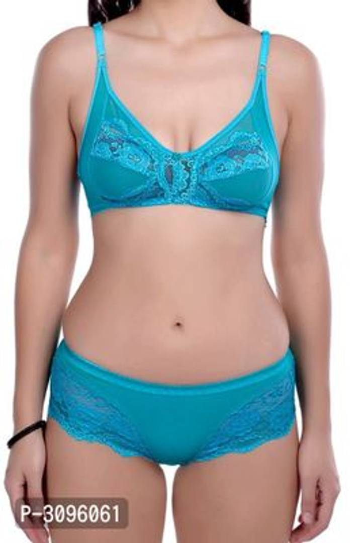 Stylish Matching Lace Bra & Panty Set