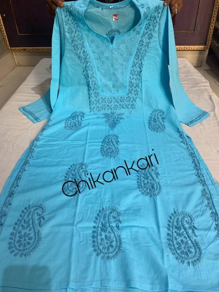 Stylish Cotton Hand Work Kurta
