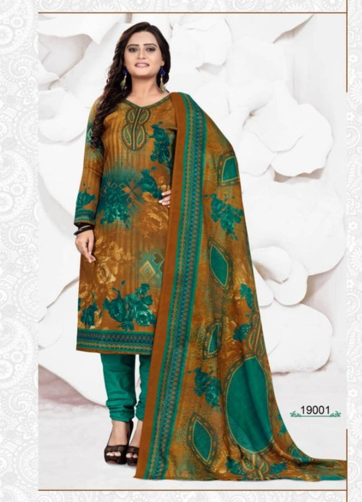 Women's Cotton Dress Material With Dupatta