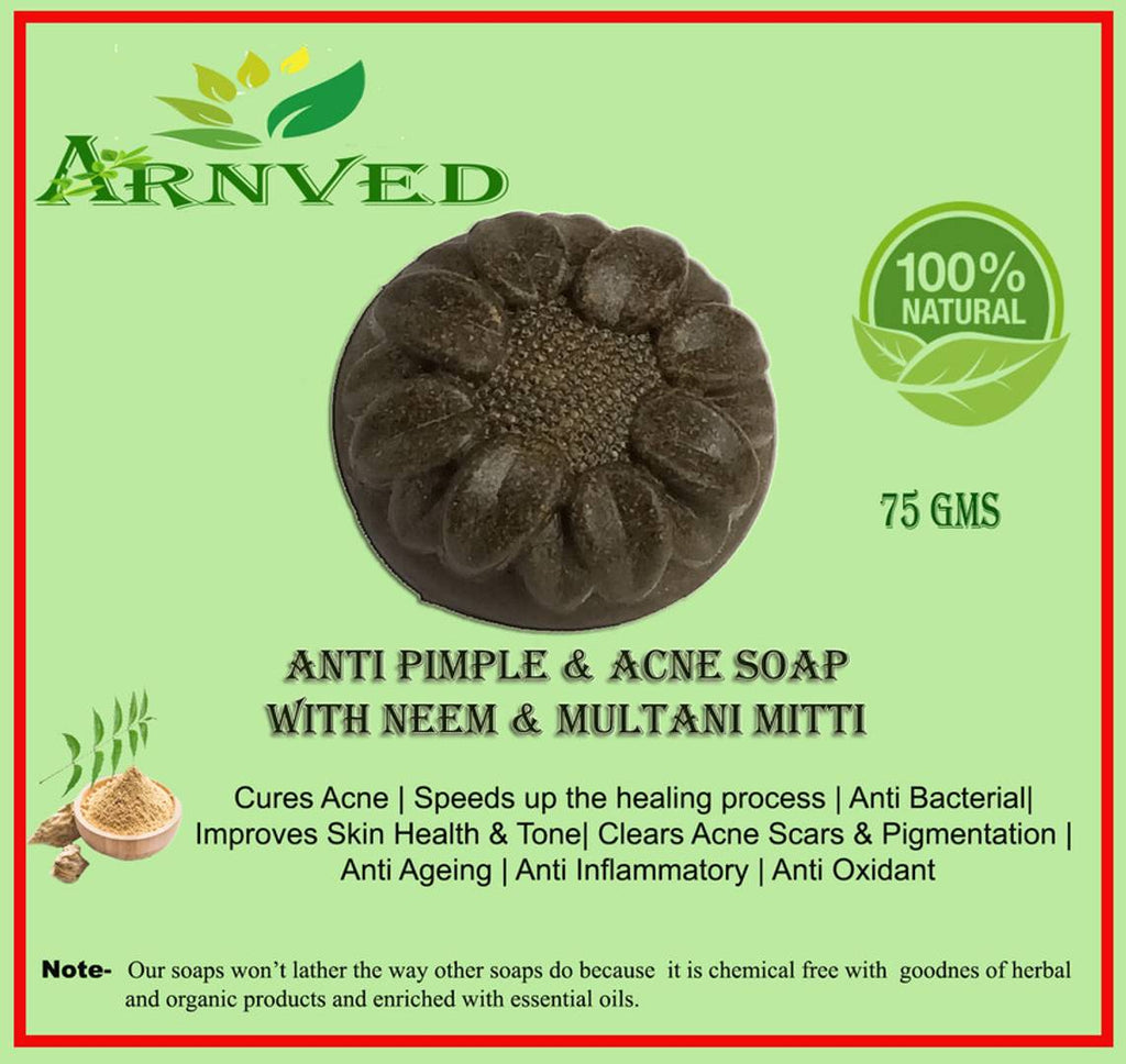 Arnved Anti Acne & Pimple Soap