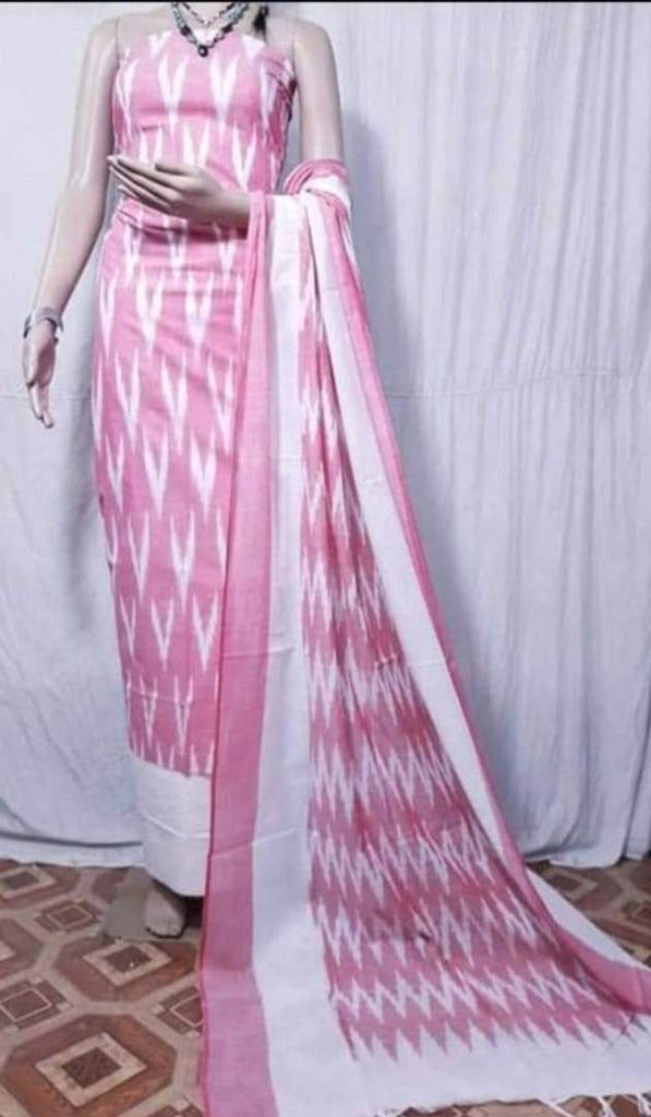 Exclusive Cotton Dress Material with Dupatta