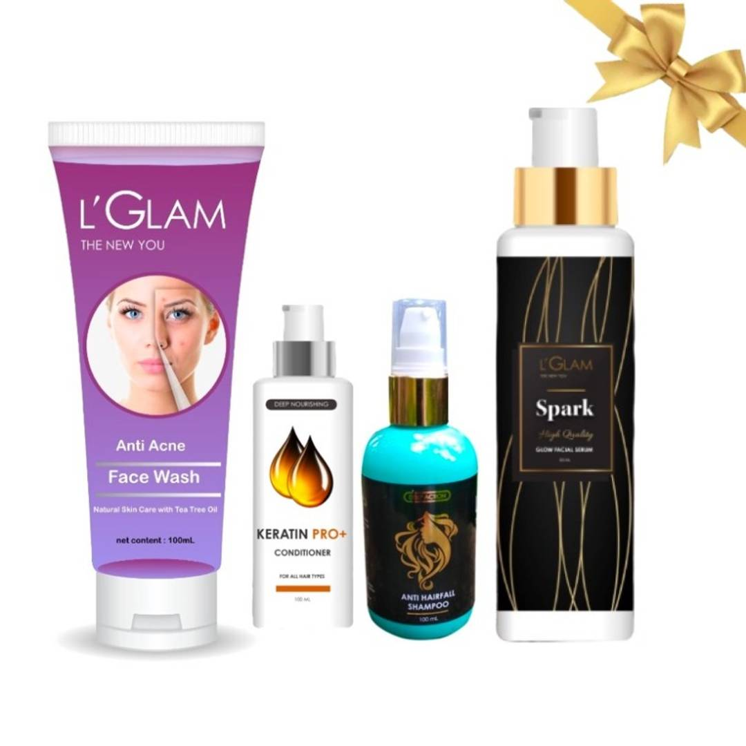 Festive Special Combo Of L'GLAM Skin & Hair Cares