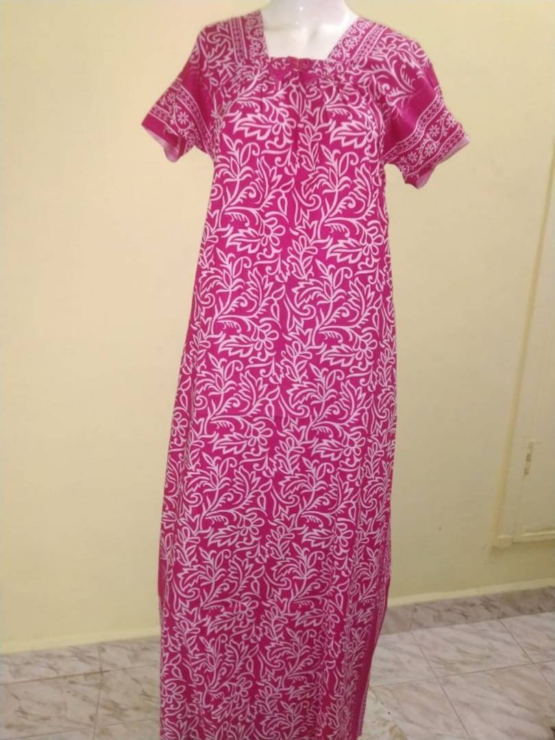 Trendy Cotton Printed Nighty For Women
