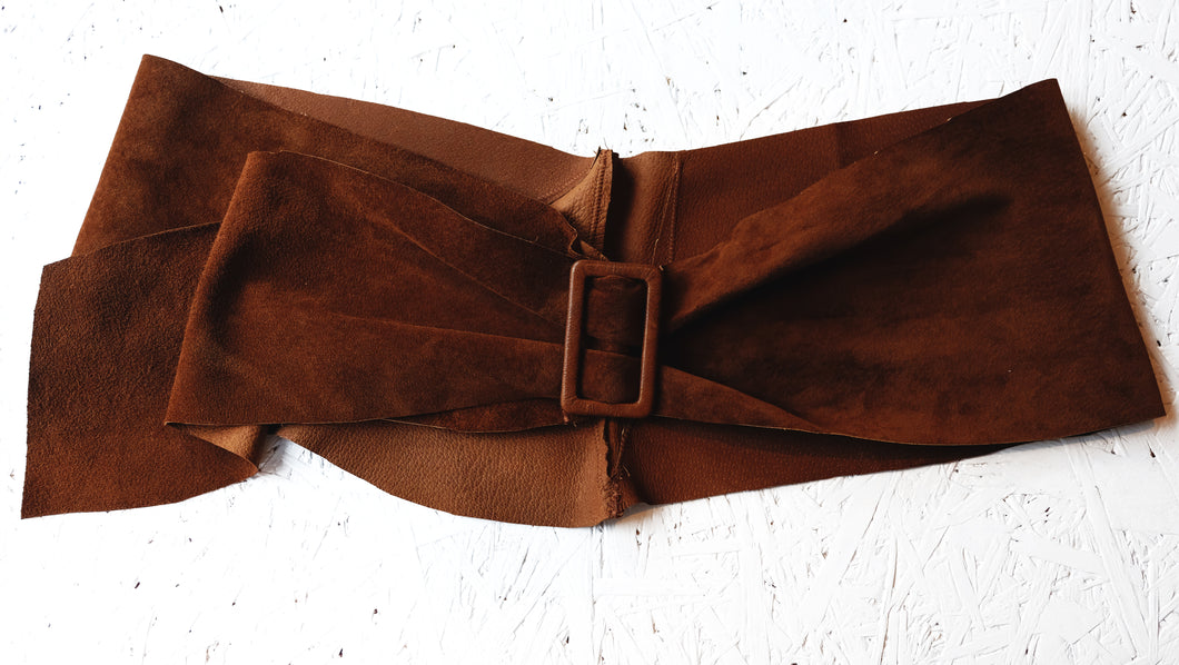 Suede Belt out of stock