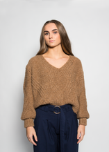 Load image into Gallery viewer, Caple knit V neck