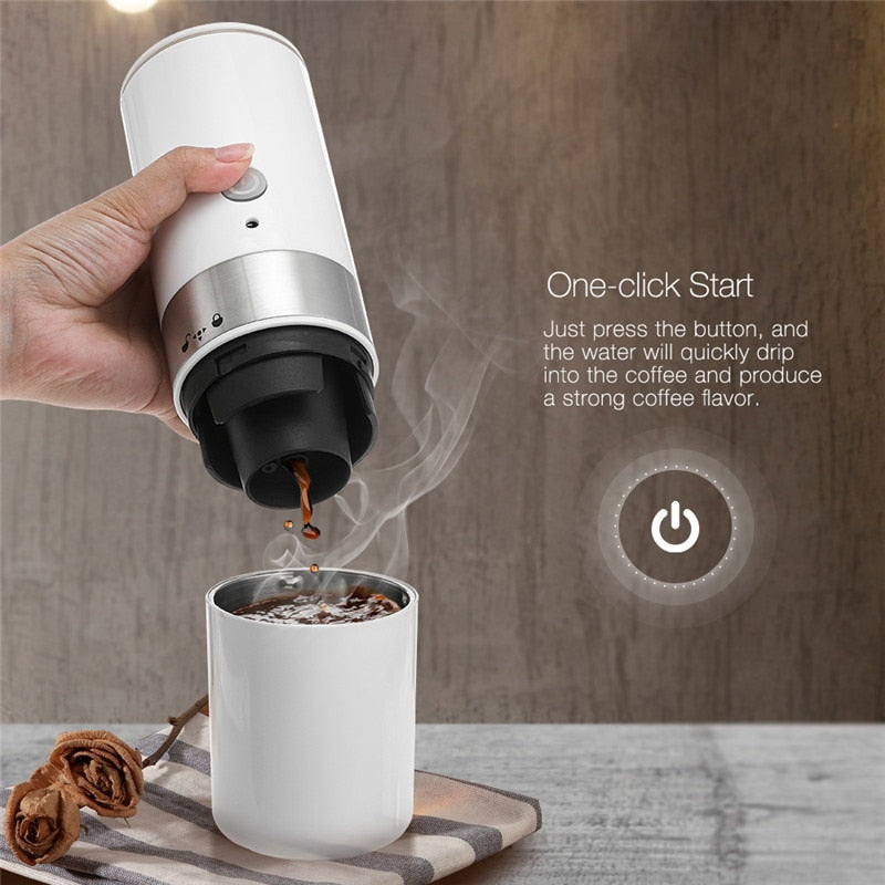 Portable Coffee Maker Hourglass