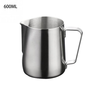 Stainless Steel Frothing Pitcher Pull Flower Cup Cappuccino Coffee Milk Mugs Milk Frothers & Latte Art Milk Foam Tool Coffeware
