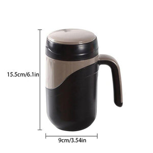 Ceramic Thermos Cup Vacuum Flask Cup Leakproof Insulated Thermos Bottle Mug Home Office Tea Cup Coffee Mug with Handle 380ml