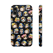 Load image into Gallery viewer, Emotes Black Phone case - 15 sizes