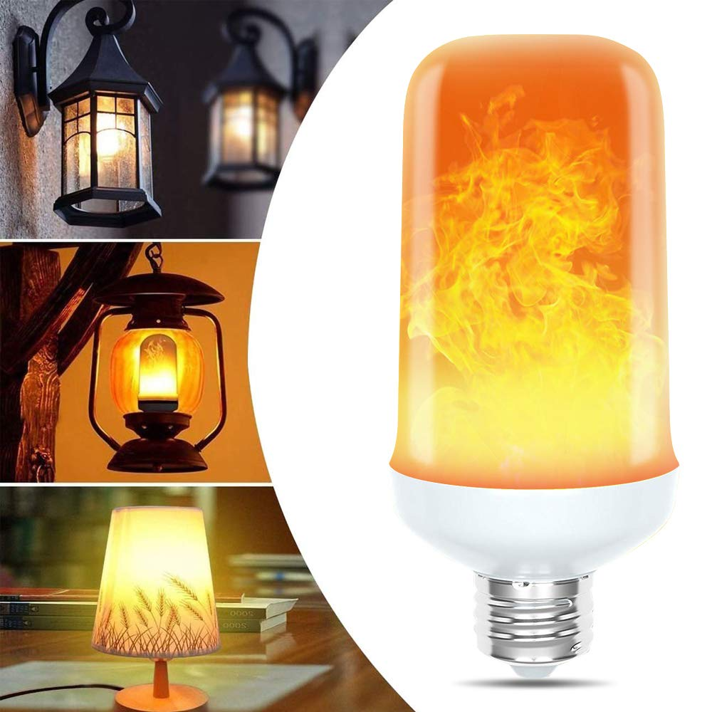 🔥LED Flame Effect Light Bulb-With Gravity Sensing🔥(Buy 8 Free Shipping)