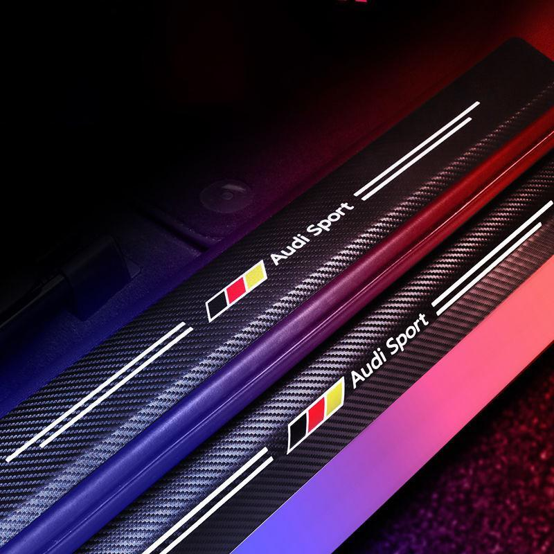 🔥50% OFF-Carbon Fiber Car Threshold Protection Sticker🚗