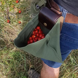 🔥2021 Retro Wave-Leather And Canvas Bushcraft Bag🍒