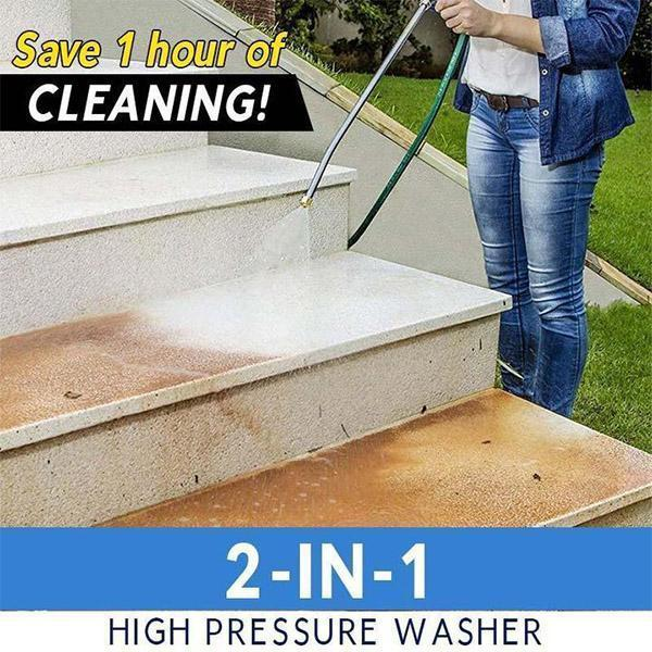 [LAST DAY PROMOTION, 50% OFF] 2-IN-1 HIGH PRESSURE WASHER 2.0