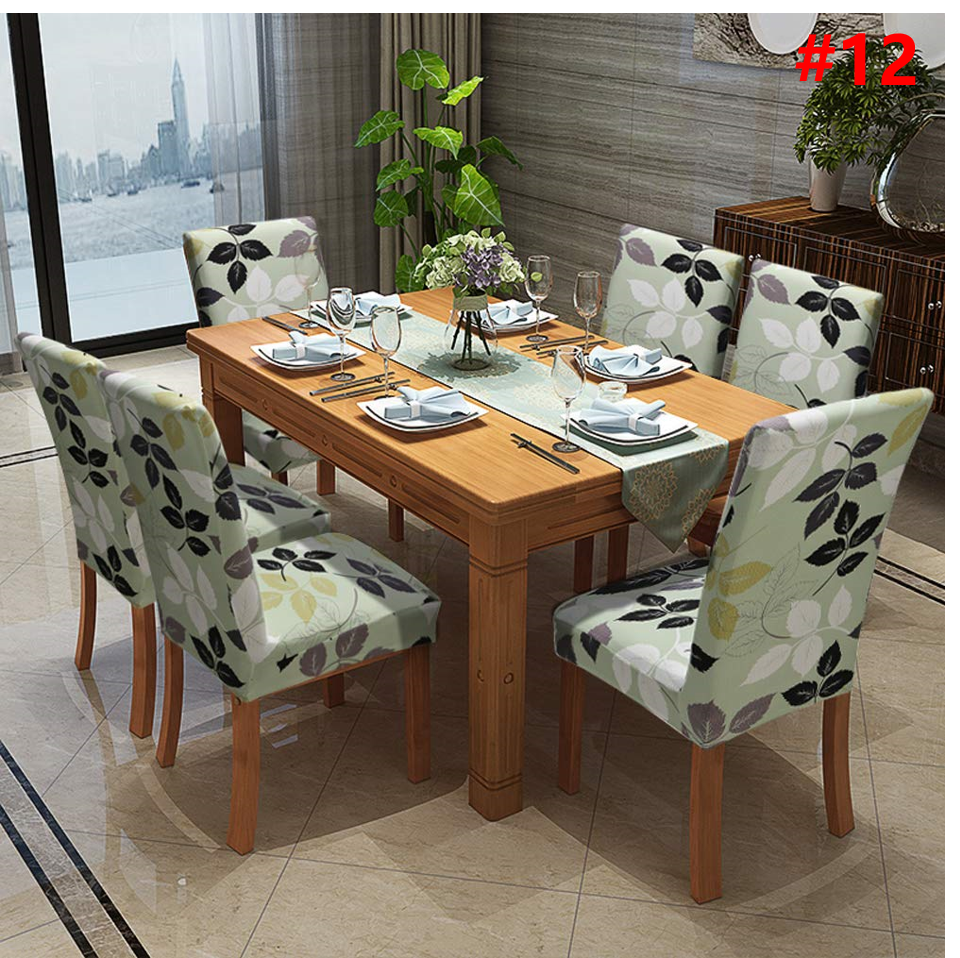 2020 Autumn Promotion-Decorative Chair Covers-Buy 6 Free Shipping