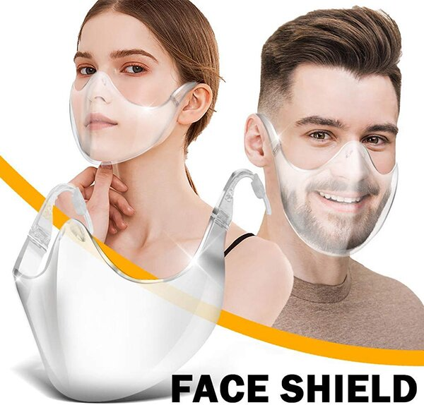🔥2020 New Fashion-Alternative Transparent Shield🔥BUY 4 GET 4 FREE