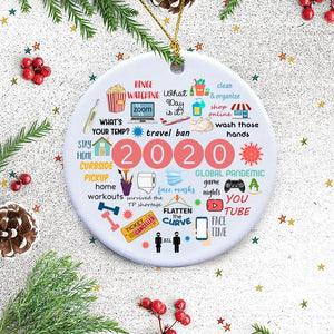 ONLY $6.99🎄2020 Annual Events Christmas Ornament🎄
