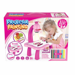 🎁Best Gift For Kids-🎨Painting Projector Toy(Buy 2 Free Shipping)