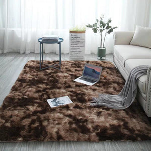 Modern Home Decorate Area Rugs for Living Room, Bedroom,Fluffy Indoor Carpet Christmas Thanksgiving Gift Rugs