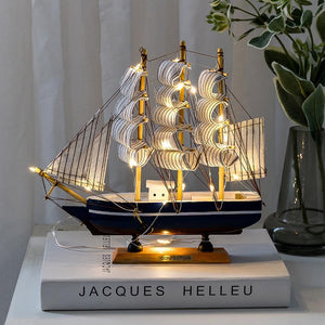 🎅2020 Christmas Decoration-Handmade Wooden Sailing ( Buy 2 for Free Shipping)