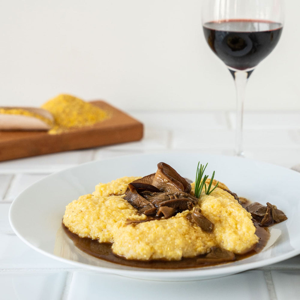Polenta with Porcini Mushrooms