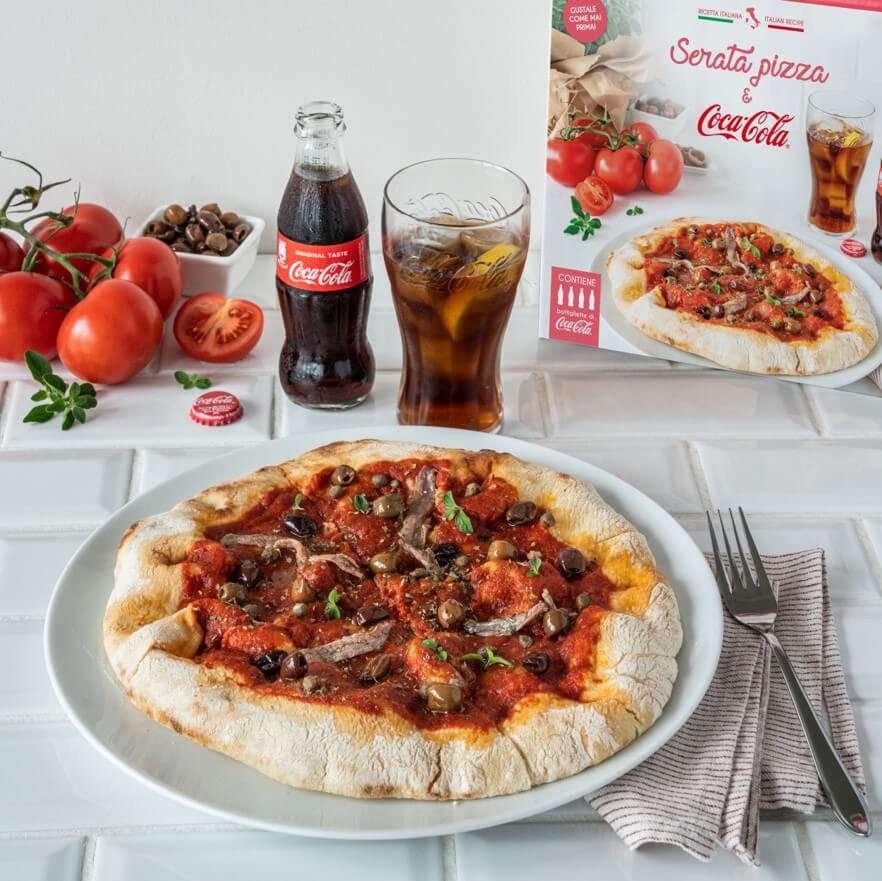 Serata pizza & Coca Cola Original Taste