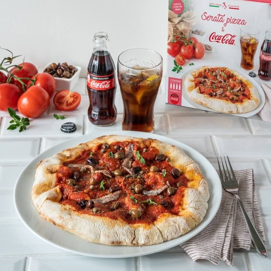 Load image into Gallery viewer, Serata pizza & Coca Cola Zero Zuccheri