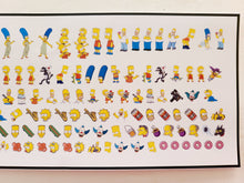 Load image into Gallery viewer, The Simpsons Nail Decals Water Slide Nail Art