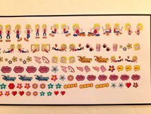 Load image into Gallery viewer, Cartoon Lizzie McGuire Nail Decals Nail Art Water Slide Transfer